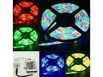 LED-slinga 5 m 300 LED Ljus Inkl. 220 Volt adapter !! 5050 - Uddevalla - LED-slinga 5 m 300 LED Ljus Inkl. 220 Volt adapter !! 5050 - Uddevalla