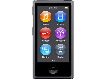 Apple iPod Nano 16GB 7th Gen - Rymdgrå
