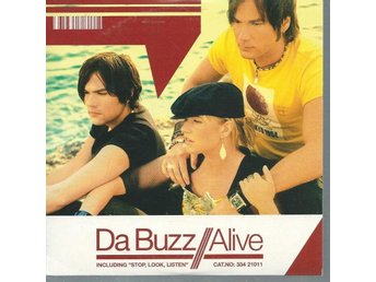 DA BUZZ - ALIVE ( CD MAXI/SINGLE )
