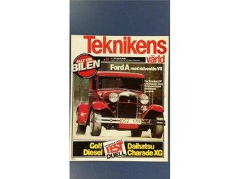 Teknikens Värld 14 1980: Jeep Cherokee 1977, Ford A V8 Hot Rod, Daihatsu Charade - Uppsala - Teknikens Värld 14 1980: Jeep Cherokee 1977, Ford A V8 Hot Rod, Daihatsu Charade - Uppsala