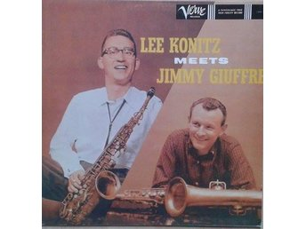 Lee Konitz Meets Jimmy Giuffre title* Lee Konitz Meets Jimmy Giuffre*Jazz,Bop Sc