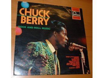 CHUCK BERRY LP Rock and roll music 1972 Scand