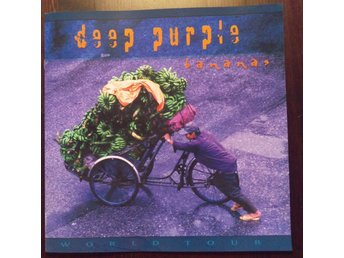 Deep Purple - Turneprogram från Bananas turnen