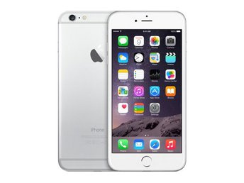 Apple iPhone 6 Plus 64GB, silver, RIMLIGT SKICK
