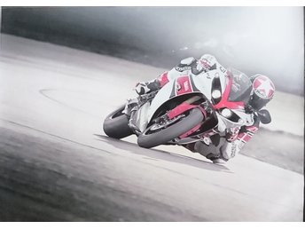 canvastryck A2 42x59,4cm (road racing)