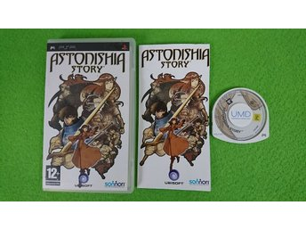 Astonisha Story Psp Playstation Portable