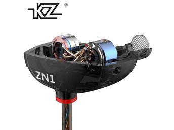 KZ ZN1 Original Earphone SVART