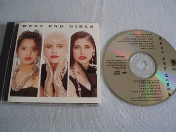 West End Girls – West End Girls, A&M Records – 75021 5366 2, Made USA 1991