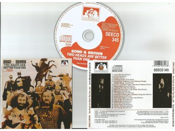 BOND & BROWN	Two Heads Are Better Than One (CD 1972/1992)