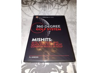 C.J. Goecks - 360 degree golf system - Mishits *INPLASTAD*