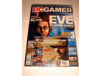 PC GAMER  Nr77  NY m CD  MAJ 2003  EVE mm. I ORIGINALPLAST