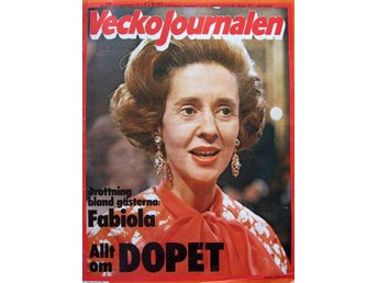 Vecko Journalen 1977-39 Ursula Andress..Maria Callas