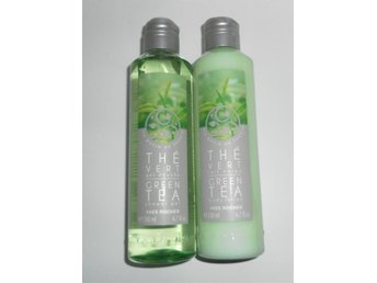 Yves Rocher Green Tea The Vért body lotion + shower gel NY Limited edition