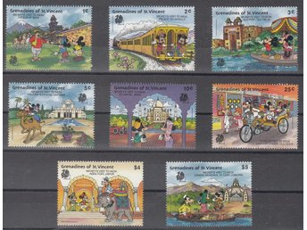 Disney, Grenadines of St. Vincent 1989. Mnr: 616-23 **