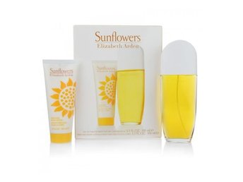 Giftset Elizabeth Arden Sunflowers Edt 100ml + Body Lotion