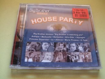 Big Brother Sverige - House Party - 2002 - CD - Odensbacken - Big Brother Sverige - House Party - 2002 - CD - Odensbacken