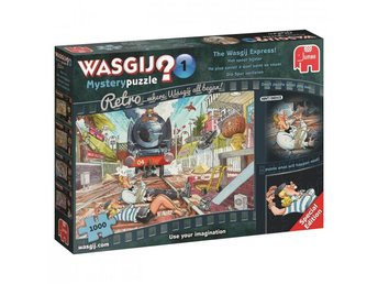 Wasgij Mystery Retro 1 The Wasgij Express 1000bitar