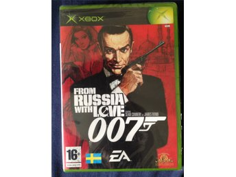 007 - From Russia with Love - Xbox spel - James Bond - Sean Connery