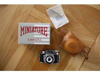 Miniature Camera/ Miniatyrkamera/ Samlarkamera/ Originalkartong och kameraväska - Göteborg - Miniature Camera/ Miniatyrkamera/ Samlarkamera/ Originalkartong och kameraväska - Göteborg