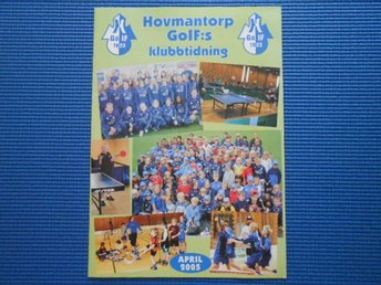 Hovmantorp GOIF:s klubbtidning april 2005