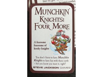 Munchkin Knights: Four More - Promo