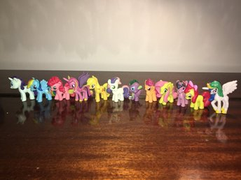 12 My Little Pony ministorlek