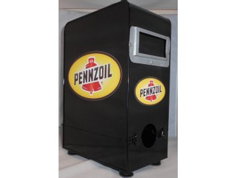 pennzoil bag in box plåt sista passa på