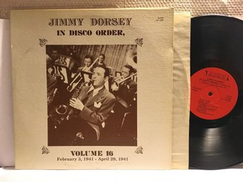 JIMMY DORSEY - IN DISCO ORDER - VOL. 16