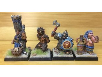 Taming of the Wildman of Ancient Times Wargames Fantasy Chaos Warhammer Dwarf