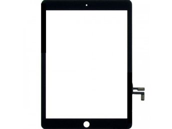 IPad Air Glas & Digitizer med tejp - Svart - Original