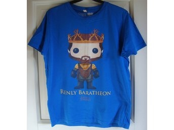 Funko Pop Game of Thrones T-Shirt Blå (Smal)
