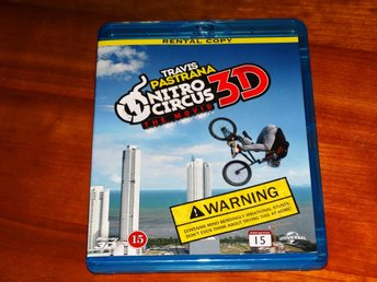 NITRO CIRCUS ~ The Movie ~ action och stuntscener, cirkus ~ 3D Blu-ray