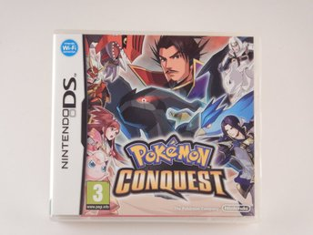 Nintendo DS  --  Pokemon Conquest    --  PAL