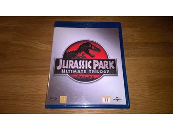 Jurassic Park - Ultimate Trilogy, 3 blu -ray skivor