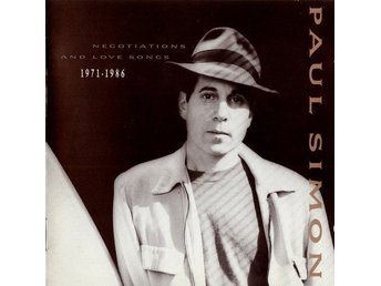 Paul Simon : Negotiations And Love Songs 1971-1986 - CD