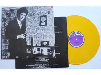 ** Jona Lewie - On The Other hand there's a Fist - Yellow vinyl **