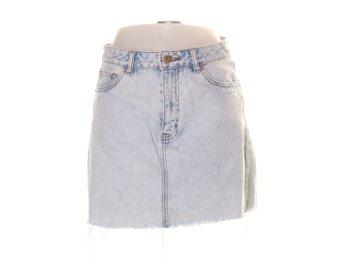 Jeanskjol kjol jeans shorts denim byxor sommar klänning Pull & Bear