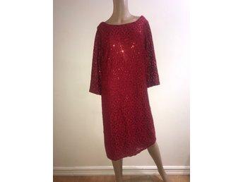 Klänning med spets i linbomull – Ny klänning till jul
