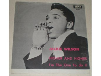 Jackie Wilson SINGELOMSLAG Higher and higher 1968