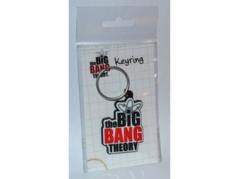 The Big Bang Theory Logo Nyckelring Ny Se Hit!