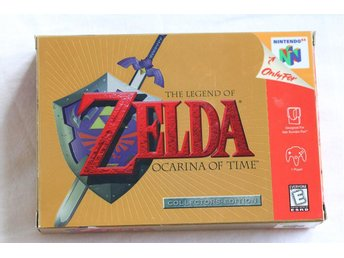 Zelda Ocarina of Time Collector's Edition Like New!