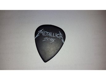 Metallica James Hetfield Got Riff? B. Ultex Guitar Pick 2015 Tour
