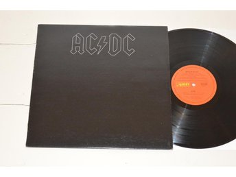 AC/DC - Back In Black (albert AUS 1980) *RARE AUSTRALIA LP*