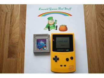 Nintendo Game Boy Color  Konsol  och spel