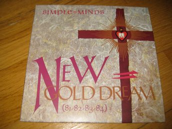 SIMPLE MINDS - New gold dream CD 1982/2002 / Vinyl replica