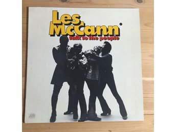 Les McCann - Talk to the People Original Mkt bra Jazz Funk Atlantic 1972