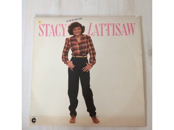 STACY LATTISAW - LET ME BE YOUR ANGEL. (LP)