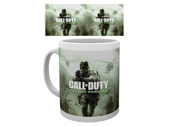 Mugg - Spel - Call of Duty Modern Warfare Key Art (MG1696)