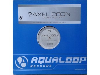 "Axel Coon title* Close To You* Hard Trance 12"" Germany"