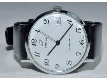 1 fin vintage Enicar Star jewels 1960-tal Ref 160-20-05 Ø 35 mm, V14798